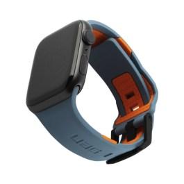 UAG Apple Watch 42/44mm Civilian Strap – Slate/Orange