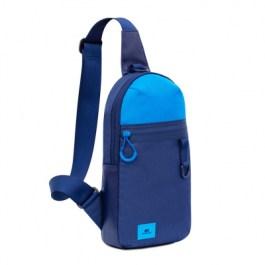 RIVACASE Laptop Backpacks: 5312 Blue Sling Bag for Mobile Devices