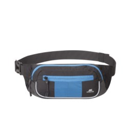 RIVACASE 5215 Black/Blue Waist Bag for Mobile Devices