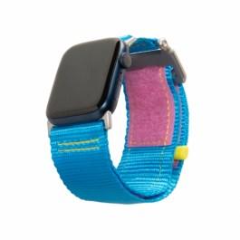 UAG Apple Watch 44/42mm Active Strap Lite – 80s (Blue/Pink)