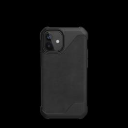 UAG iPhone 12 Mini 5.4 Metropolis LT – Leather Black
