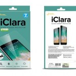 iClara Glass Screen Protector for iPhone 8 Plus( 0.26mm, Smaller than screen size)
