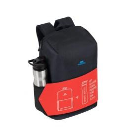 Regent BUNDLE 8068 black Full size Laptop backpack 15.6″ + Sports bottle