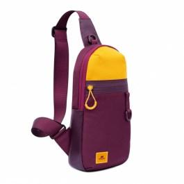 Dijon 5312 Burgundy Red Sling Bag