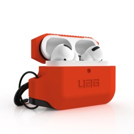 UAG AirPods Pro Silicone Case – Orange/Black
