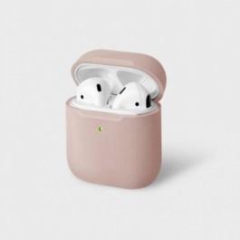 Uniq Lino Hybrid Liquid Silicon AirPods 1/2 Case – Pink