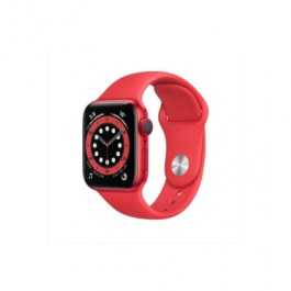 Series 6 40mm Red Aluminum | Red Sport Band