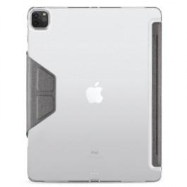 JTLEGEND AMOS iPad Pro 12.9″ 2021 Folio Case with Pencil Holder – Dark Grey