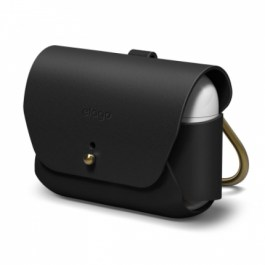 AirPods Pro Leather Case – Black