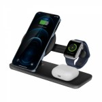 Energea MagDisc Trio 3in1 Magnetic Fast Wireless Charging Dock 5w/7.5w/10w