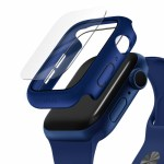 UNIQ NAUTIC Watch Case With IP68 WATER-RESISTANT TEMPERED GLASS 44MM – Blue