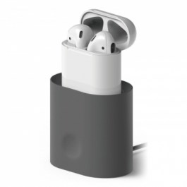AirPods Charging Station [Dark Grey] – for AirPods 1 & 2