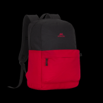 RIVACASE 5560 Black/Pure Red 20L Laptop Backpack 15.6″