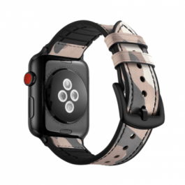 Camouflage Leather Band – Pink 38mm/40mm