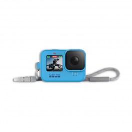 HERO 9/10 Black Camera Sleeve + Lanyard – Blue