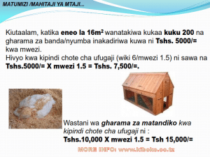 chicken management swahili 022 300x225 - Ufugaji wa kuku kwa njia ya kisasa