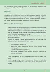 kutengeneza vyakula 013 211x300 - Utengenezaji wa vyakula vya kuku kuanzia vifaranga hadi wakubwa