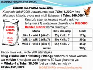 chicken management swahili 019 300x225 - Ufugaji wa kuku: Namna ya kuanza na mchanganuo wa mapato na matumizi