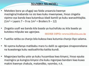 chicken management swahili 025 300x225 - Ufugaji wa kuku: Namna ya kuanza na mchanganuo wa mapato na matumizi