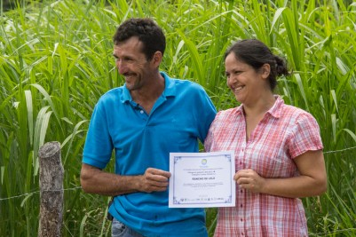 Aurelio Mata Leiton and his wife, Elvira Cruz Salazar.