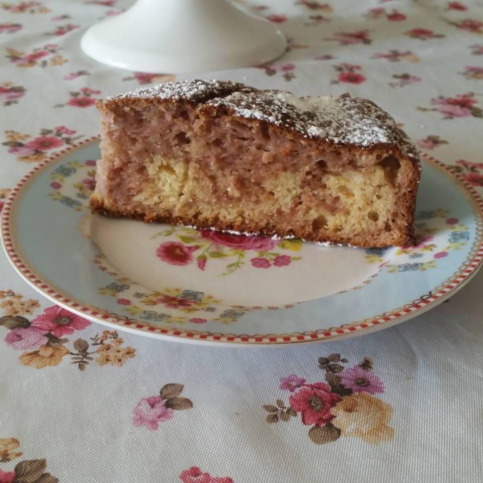 פרוסת עוגת שיש