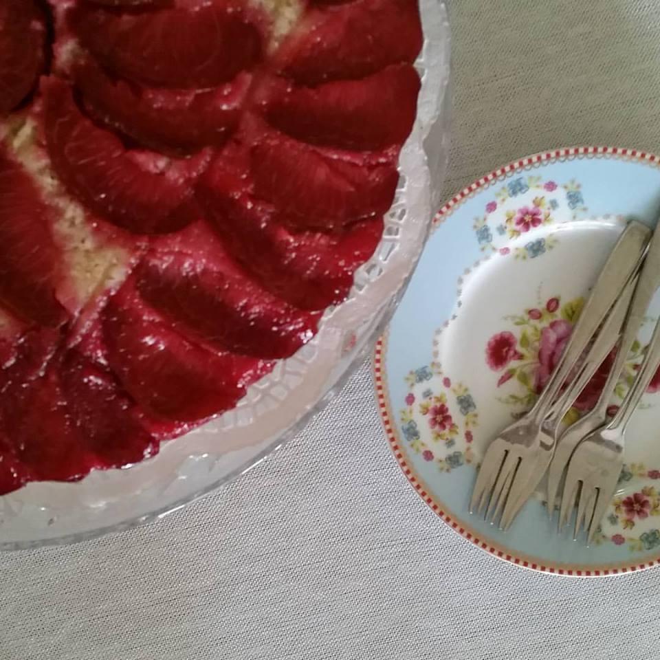 עוגת שזיפים 8