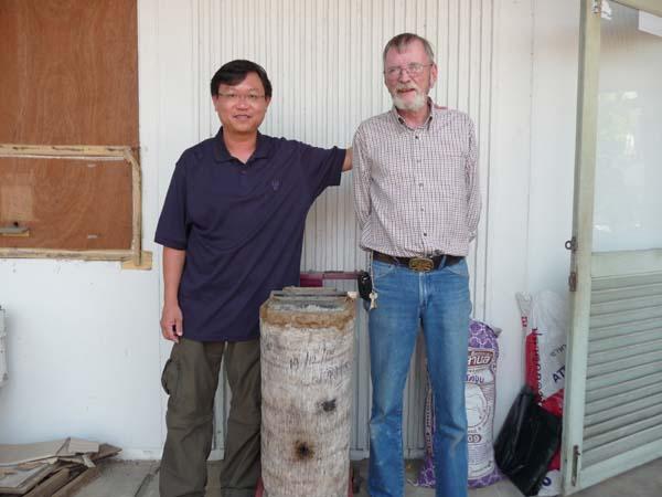 Michael Burgett, PhD and I