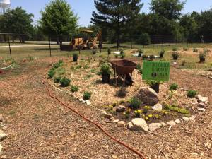 Rockdale Community and Education Garden.