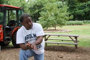 Bobby Wilson of the Atlanta Urban Farm.