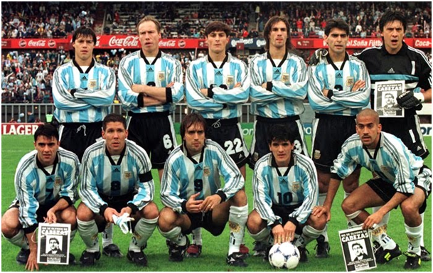 Image result for seleccion argentina mundial 1998