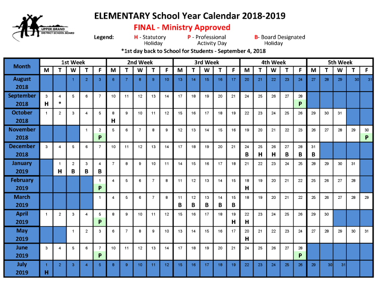Click Here to open the Elementary School Calendar as a PDF