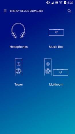 Energy Sistem Music App Android 3