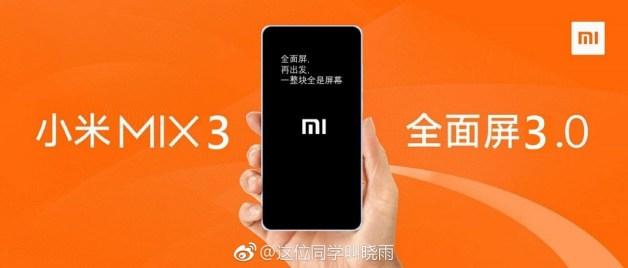 Xiaomi Mi MIX 3 Leak 2