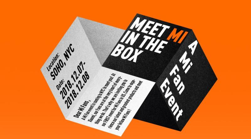 Xiaomi Meet Mi in The Box NYC