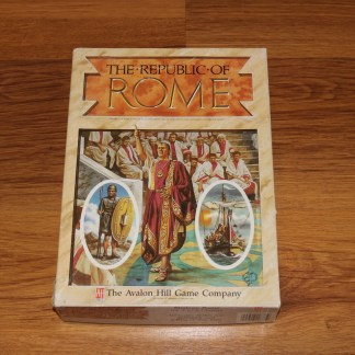 ugi games toys avalon hill the republic of rome english board game 1990 strategy wargame