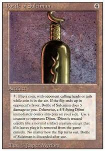 ugi games mtg revised bottle suleiman