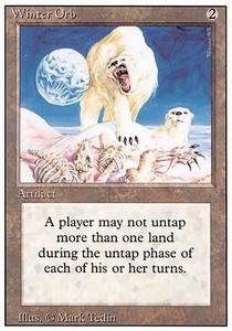 ugi games mtg revised winter orb