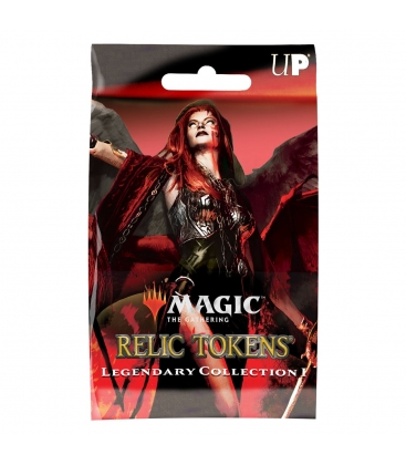 ugi games toys wizards of the coast mtg magic gathering relic tokens display box caja boosters english