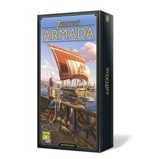 ugi games toys repos production 7 wonders segunda edicion juego mesa cartas estrategia expansion armada