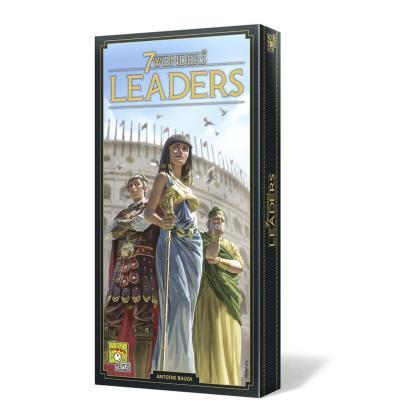 ugi games toys repos production 7 wonders segunda edicion juego mesa cartas estrategia expansion leaders