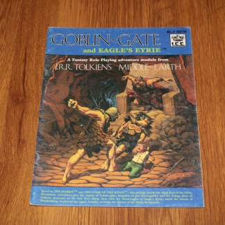 ugi games toys ice iron crown merp middle earth rpg book supplement goblin gate and eagles eyrie 8070