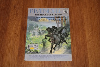 ugi games toys ice iron crown merp middle earth rpg book supplement rivendell the house of elrond 8080