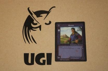 ugi games toys ice iron crown meccg mele lidless eye 1997 english card hador