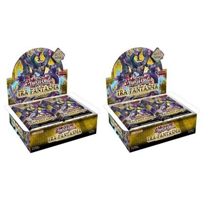 ugi games toys konami yugioh caja display sobres juego cartas ira fantasma
