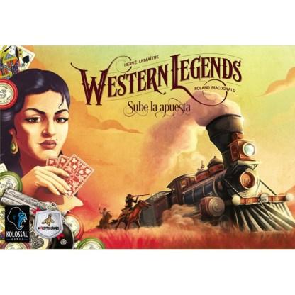 ugi games toys maldito games western legends juego mesa español expansion sube la apuesta
