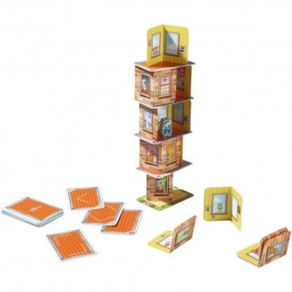 ugi games toys haba rhino hero juego mesa infantil español