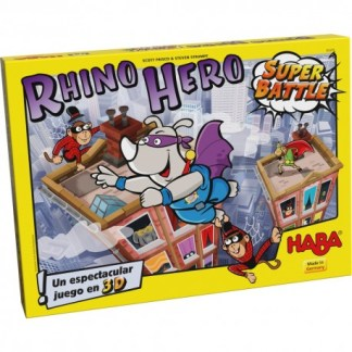 ugi games toys haba rhino hero super battle juego mesa infantil español