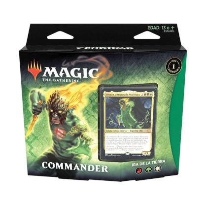 ugi games toys wizards coast mtg magic resurgir zendikar mazo commander español