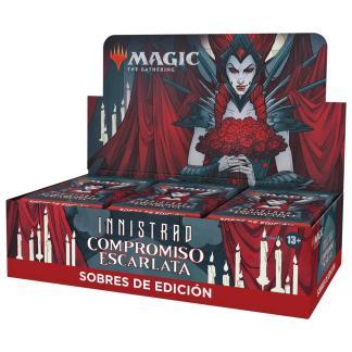 ugi games toys wizards coast mtg magic juego cartas español sobre edicion innistrad compromiso escarlata