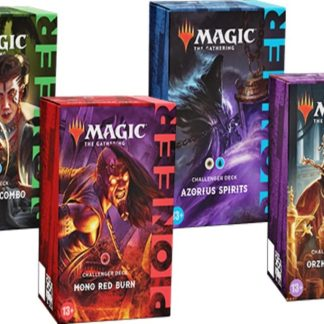 ugi games toys wizards coast mtg magic english card game pioneer challenge deck 2021